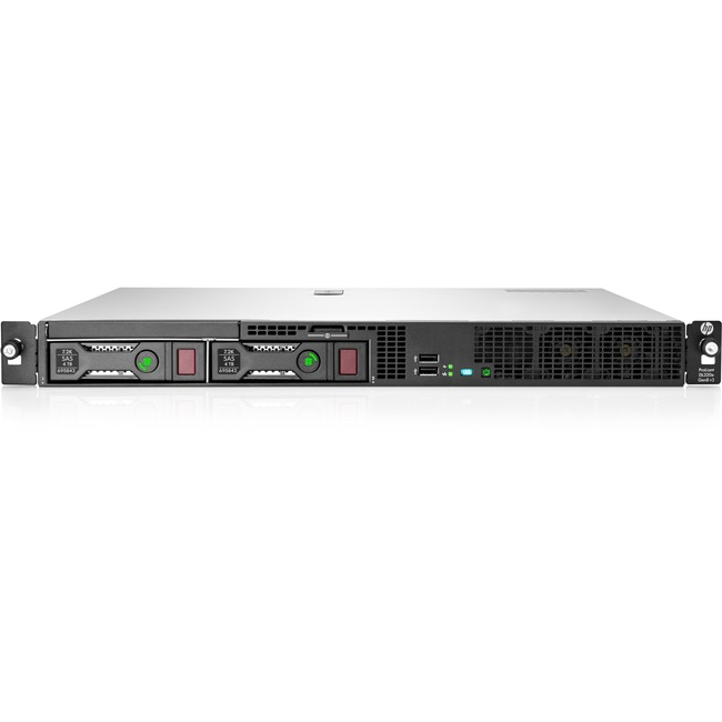 HP ProLiant DL320e G8 v2 1U Rack Server - 1 x Intel Pentium G3240 Dual-core (2 Core) 3.10 GHz