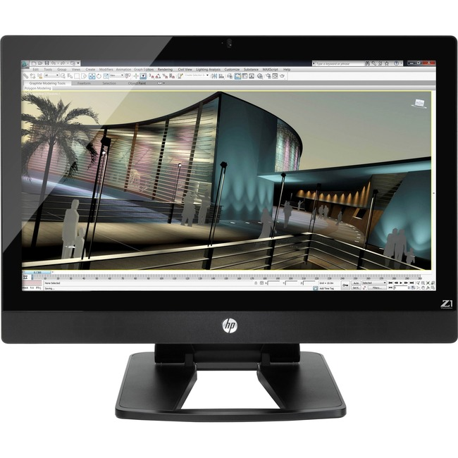 HP Z1 G2 All-in-One Workstation - 1 x Processors Supported - 1 x Intel Xeon E3-1281 v3 Quad-core (4 Core) 3.70 GHz
