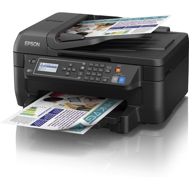 Epson WorkForce 2650 Inkjet Multifunction Printer - Color - Plain Paper Print - Desktop