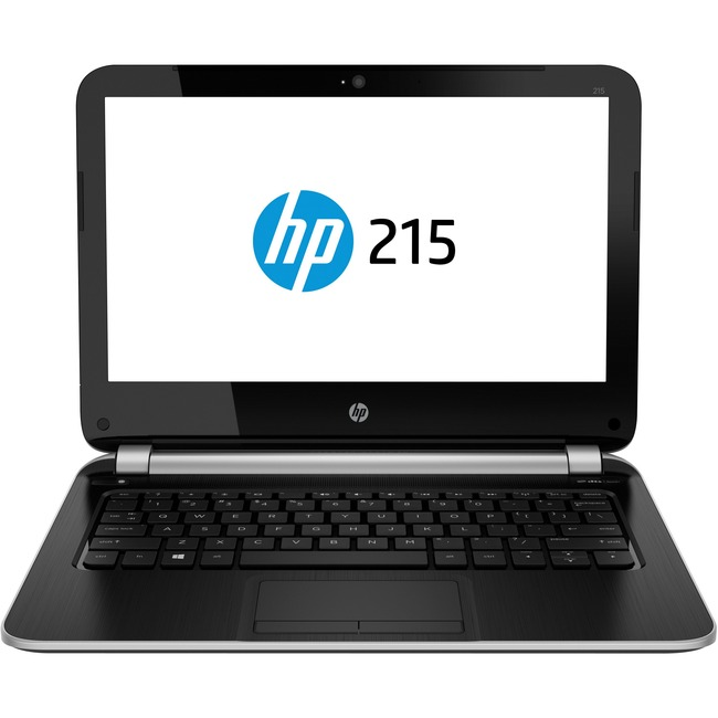 """HP 215 G1 11.6"""" LCD Notebook - AMD A-Series A4-1250 Dual-core (2 Core) 1 GHz - 4 GB - 320 GB HDD - 1366 x 768 - Silver"""