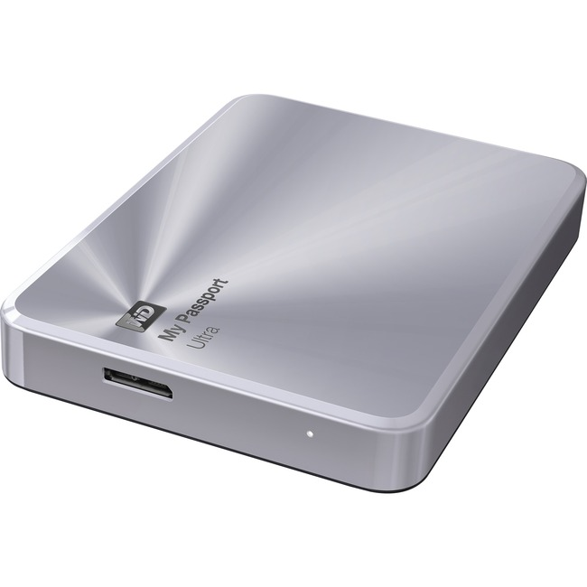 WD My Passport Ultra Metal Edition 2TB Silver premium storage with style