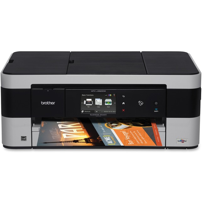 Brother Business Smart MFC-J4620DW Inkjet Multifunction Printer - Color - Plain Paper Print - Desktop