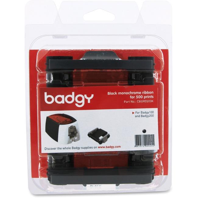 Evolis Badgy100 & 200 Black Ribbon