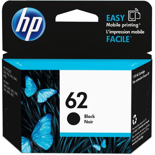 HP 62 Ink Cartridge   Black