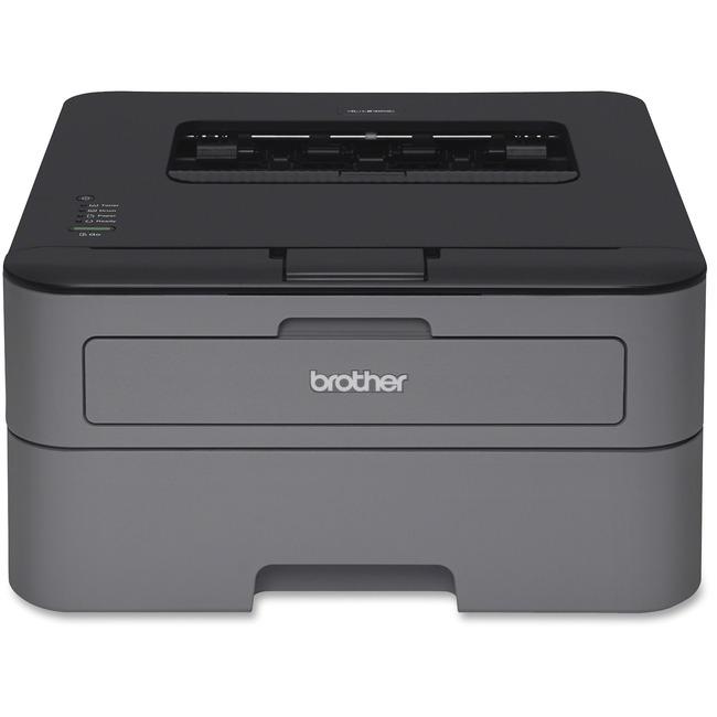 Brother HL-L2320D Laser Printer | Monochrome | 2400 x 600 dpi Print | Plain Paper Print | Desktop