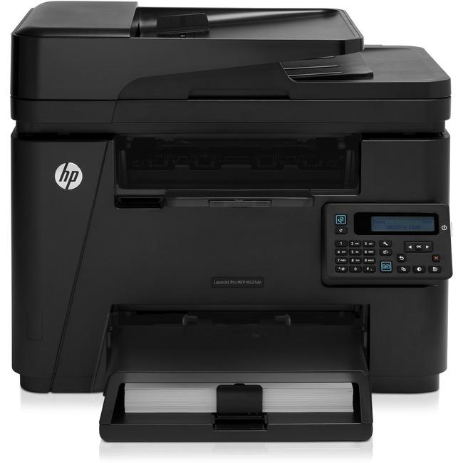 HP LaserJet Pro M225DN Laser Multifunction Printer - Monochrome - Plain Paper Print - Desktop