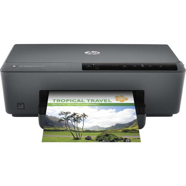 HP Officejet Pro 6230 Inkjet Printer - Color - 600 x 1200 dpi Print - Plain Paper Print - Desktop
