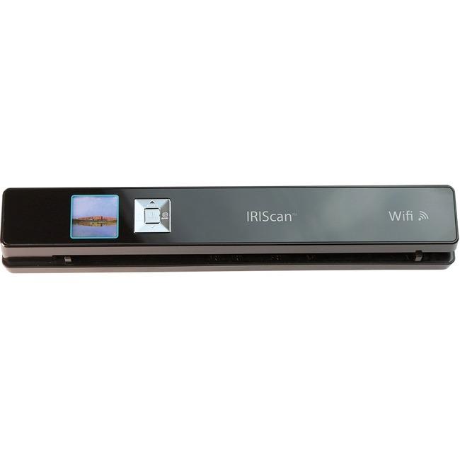I.R.I.S IRIScan Anywhere 3 Wifi Cordless Sheetfed Scanner | 1200 dpi Optical