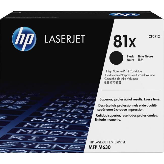 HP 81X Toner Cartridge - Black