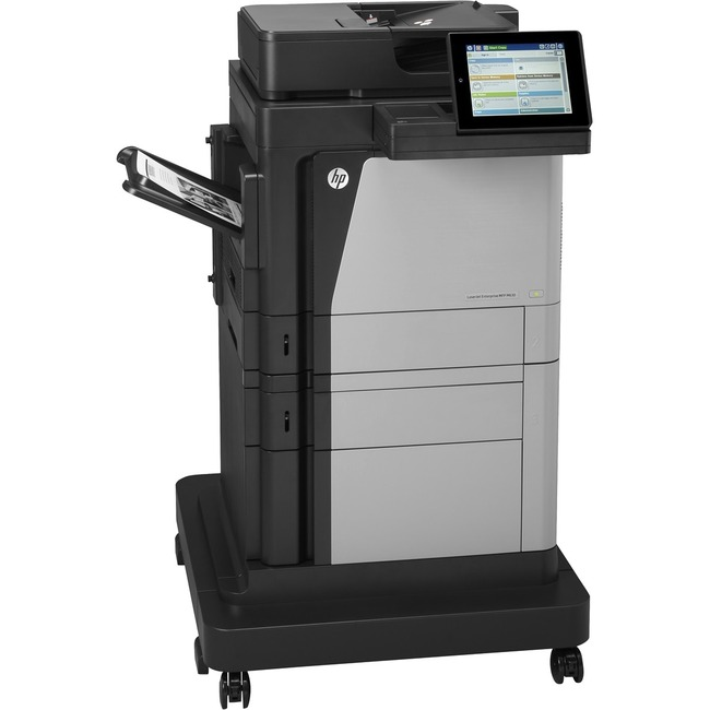 HP LaserJet M630F Laser Multifunction Printer - Monochrome - Plain Paper Print