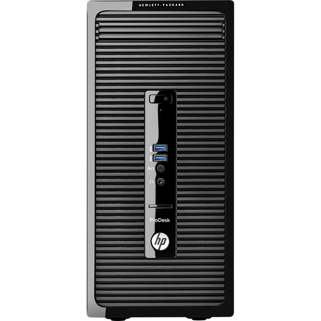 HP Business Desktop ProDesk 405 G2 Desktop Computer - AMD A-Series A4-6250 2 GHz - 4 GB DDR3 SDRAM - 500 GB HDD - Window