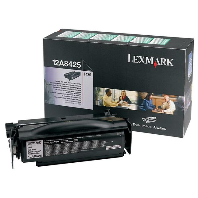 Lexmark T430 High Yield Return Program Print Cartridge