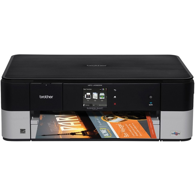 Brother Business Smart MFC-J4320DW Inkjet Multifunction Printer - Color - Plain Paper Print - Desktop