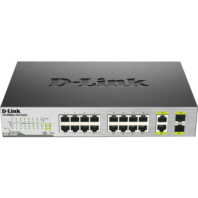 D-Link DES-1018P 18 Ports Ethernet Switch