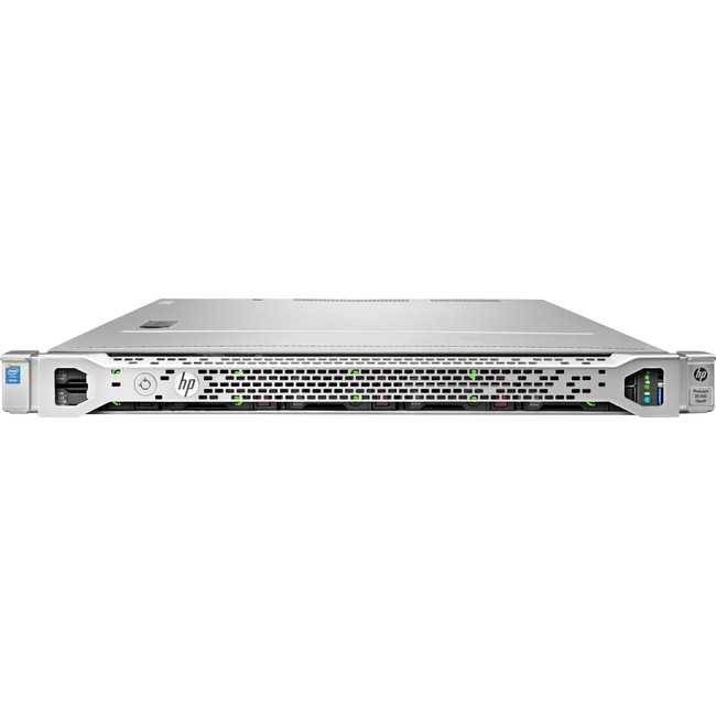 HP ProLiant DL160 G9 1U Rack Server | 1 x Intel Xeon E5-2609 v3 Hexa-core (6 Core) 1.90 GHz | 8 GB Installed DDR4 SDRAM | 12Gb/s SAS Controller | 0, 1, 5 RAID Levels | 1 x 550 W