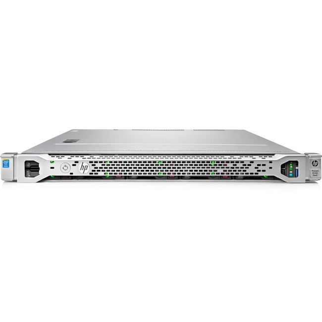 HP ProLiant DL160 G9 1U Rack Server | 1 x Intel Xeon E5-2603 v3 Hexa-core (6 Core) 1.60 GHz | 8 GB Installed DDR4 SDRAM | 12Gb/s SAS, Serial ATA Controller | 0, 1, 5 RAID Levels | 1 x 550 W