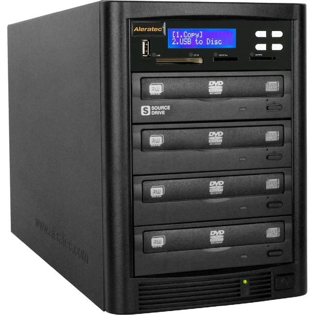 Aleratec DVD/CD Flash Copy Tower