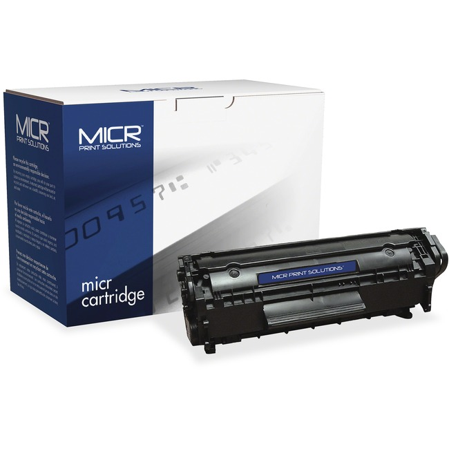 MICR Tech Remanufactured MICR Toner Cartridge - Alternative for HP 12A (Q2612A)