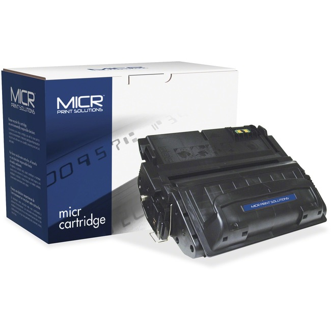 MICR Tech Remanufactured MICR Toner Cartridge - Alternative for HP 42A (Q5942A)