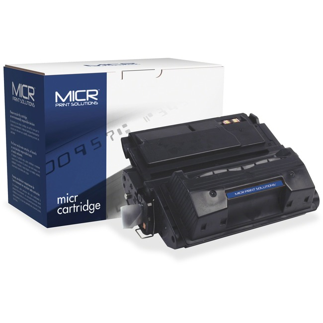 MICR Tech Remanufactured MICR Toner Cartridge - Alternative for HP 42X (Q5942X)