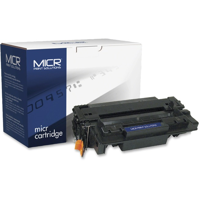 MICR Tech Remanufactured MICR Toner Cartridge - Alternative for HP 55A (CE255A)