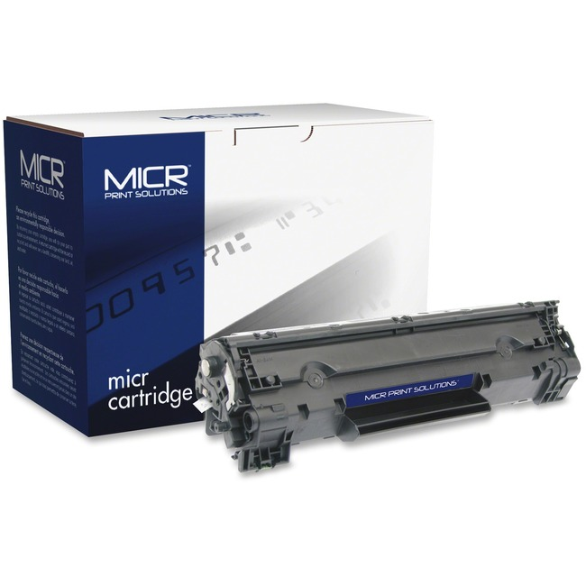 MICR Tech Remanufactured MICR Toner Cartridge - Alternative for HP 78A (CE278A)