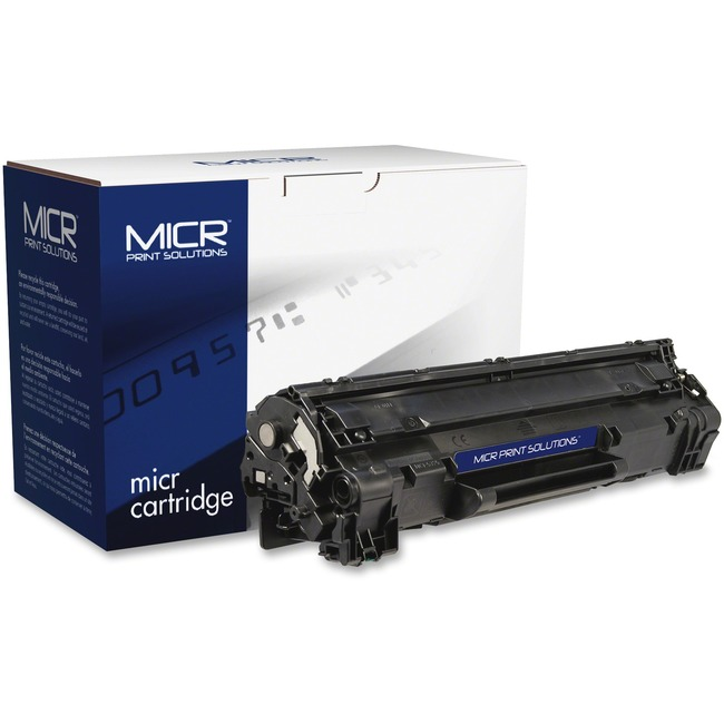 MICR Tech Remanufactured MICR Toner Cartridge - Alternative for HP 85A (CE285A)