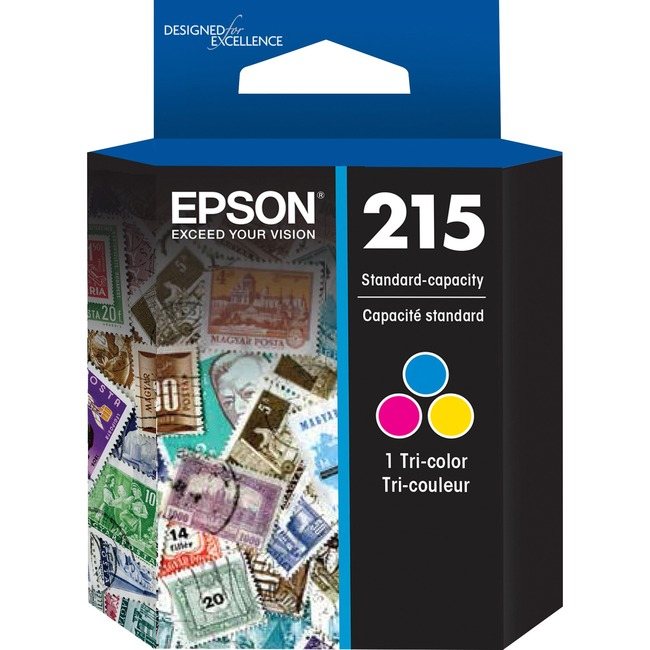 Epson 215 Original Ink Cartridge - Tri-color