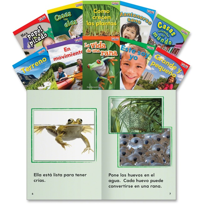 Shell Education Gr 1 TFK Science Spanish Book Set Printed Book