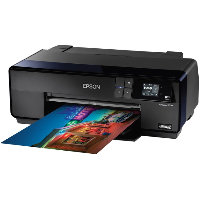 Epson SureColor P600 Inkjet Printer - Color - 5760 x 1440 dpi Print - Photo/Disc Print - Desktop