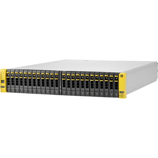 HP 3PAR StoreServ 7400c SAN Array - 24 x HDD Supported - 24 x SSD Supported
