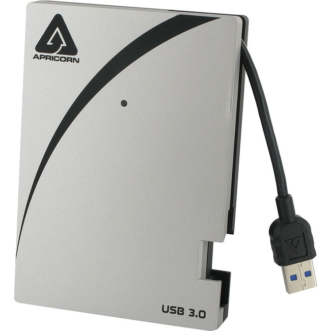 AEGIS PORTABLE USB 3 HDD 2TB INGRETATED CABLE