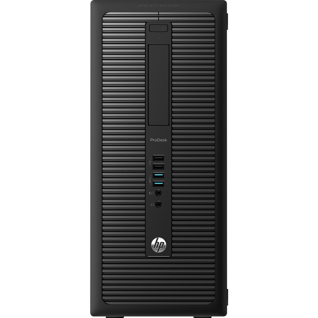 HP Business Desktop ProDesk 600 G1 Desktop Computer - Intel Core i3 (4th Gen) i3-4360 3.70 GHz - 8 GB DDR3 SDRAM - 500 G