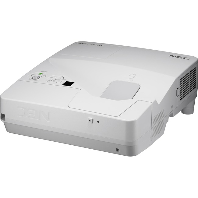 XGA, LCD, 3600 Lumen Ultra Short Throw Projector w/20W speaker, Closed Captionin