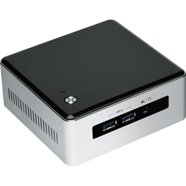 Intel NUC (Barebone Kit), Core i3-5010U (2.10 GHz, 3MB Cache, 2 Cores/4 Threads)