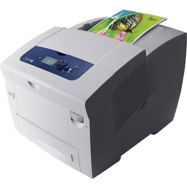 Xerox ColorQube 8580DN Solid Ink Printer - Color - 2400 dpi Print - Plain Paper Print - Desktop
