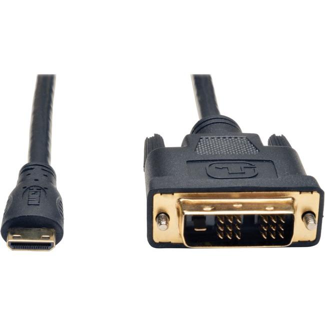 Tripp Lite Mini HDMI to DVI Digital Monitor Adapter Cable M/M 10' 10ft