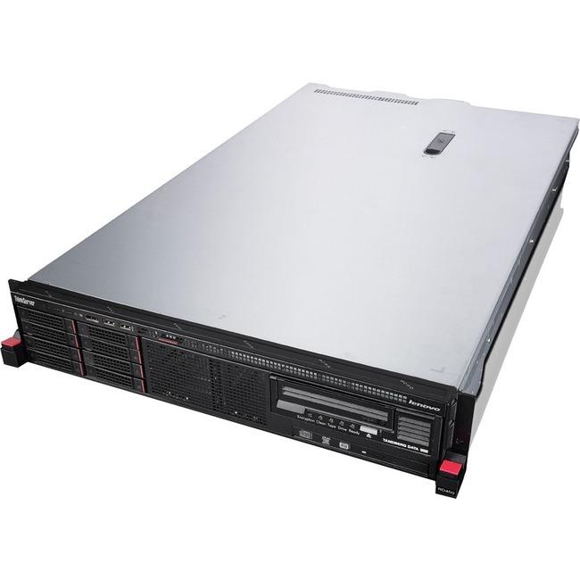 Lenovo ThinkServer RD450 70DC001KUX 2U Rack Server - 1 x Intel Xeon E5-2603 v3 Hexa-core (6 Core) 1.60 GHz - 8 GB Instal
