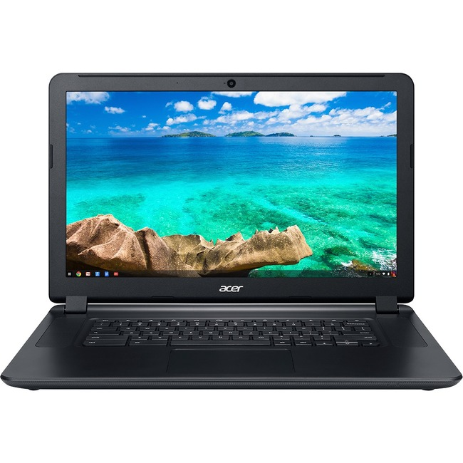 "Acer C910-C37P 15.6"" LED (ComfyView) Chromebook - Intel Celeron 3205U Dual-core (2 Core) 1.50 GHz - Black"