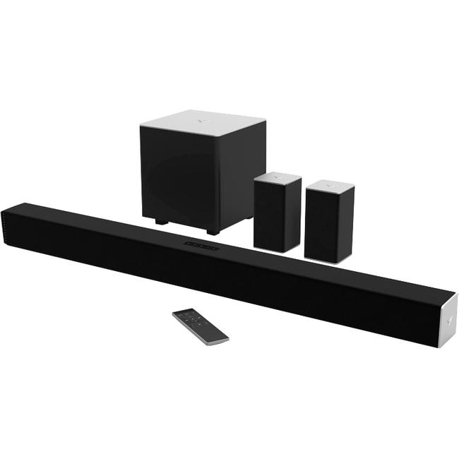 VIZIO 5.1 Sound Bar Speaker - Table Mountable, Wall Mountable - Wireless Speaker(s)