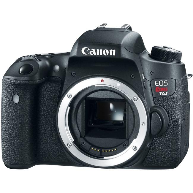 Canon EOS Rebel T6s 24.2 Megapixel Digital SLR Camera Body Only