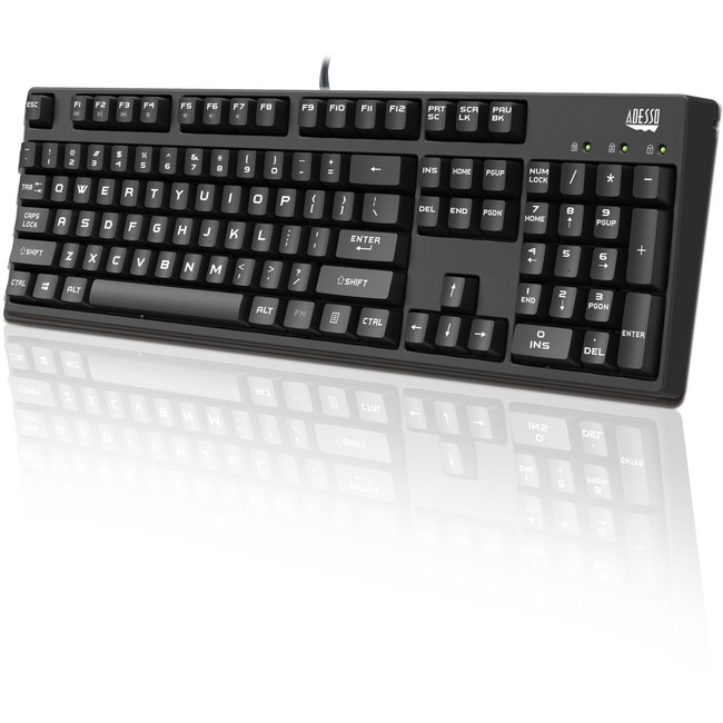 Adesso Full Size Mechanical Gaming Keyboard