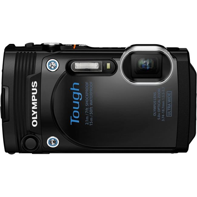 Olympus Stylus Tough TG-860 16 Megapixel Compact Camera - Black