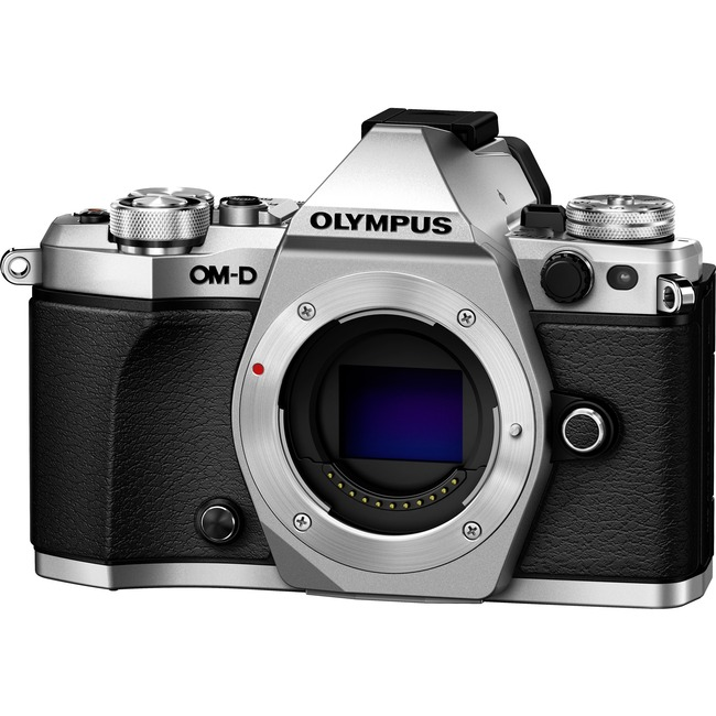 Olympus OM-D E-M5 Mark II 16.1 Megapixel Mirrorless Camera Body Only - Silver