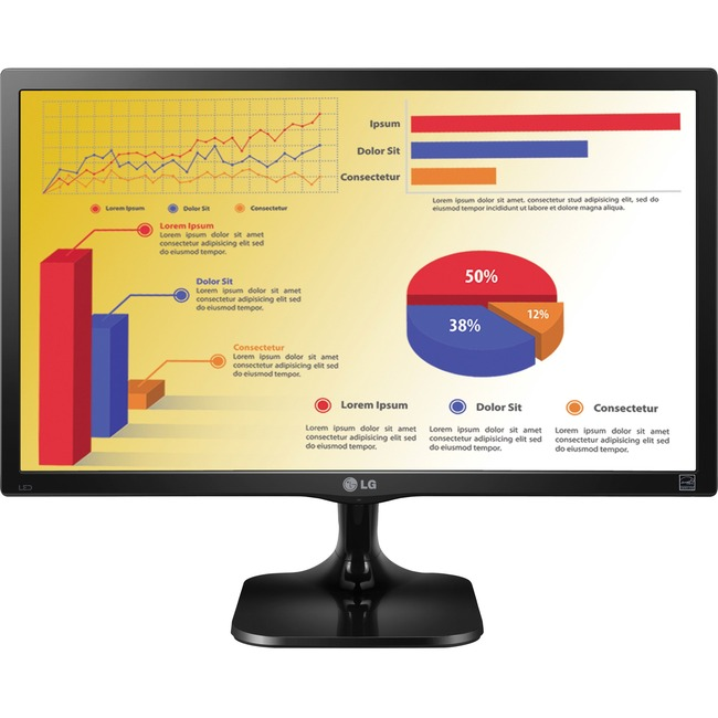 "LG 22MC37D-B 22"" LED LCD Monitor - 16:9 - 5 ms"