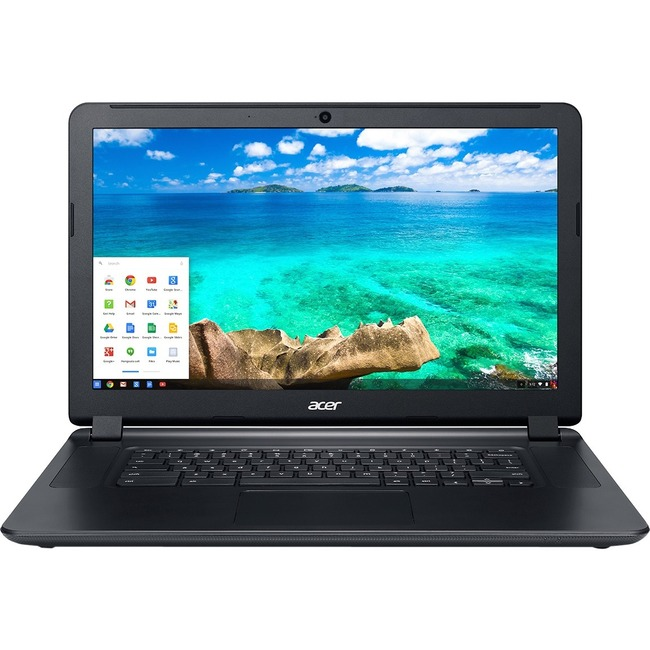 "Acer C910-3916 15.6"" LED (ComfyView) Chromebook - Intel Core i3 i3-5005U Dual-core (2 Core) 2 GHz - Black"