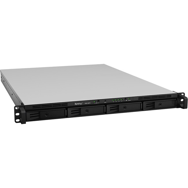 Synology Network Attachment Storage RS815RP+ Server 4Bay Atom C2538 Quad Core 2GB DDR3 iSCSI Retail