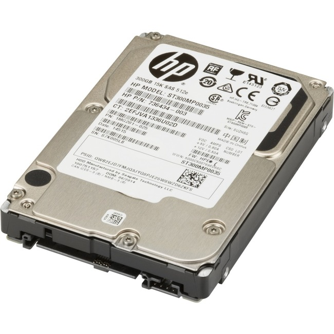 "HP 300 GB Hard Drive - 2.5"" Internal - SAS"