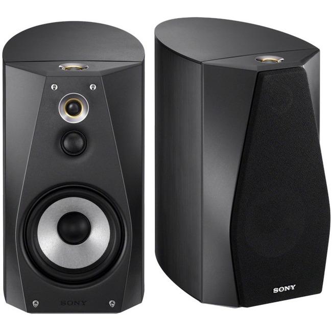 Sony SS-HA1 120 W RMS Speaker - 3-way - 2 Pack - Black
