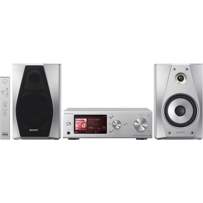 Sony SS-HA3/S 100 W RMS Speaker - 2-way - Silver